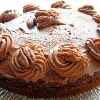 Old Fashioned Milk Chocolate Cake