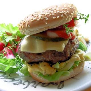 Chilli, Coconut and Coriander Pork Burger aka The Towering Inferno!