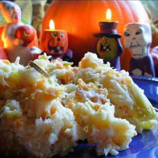 More Spooky Family Food with a Traditional All Hallows' Eve Supper ~ Mash O' Nine Sorts