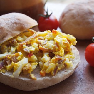 Bacon Connoisseurs' Week ~ Old-Fashioned Egg & Bacon Sandwich Spread