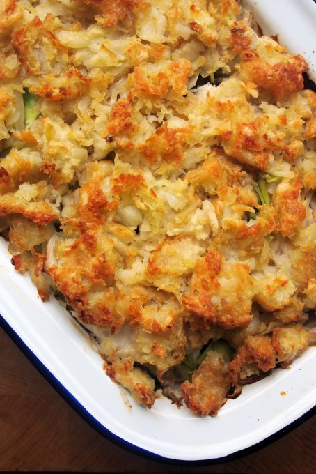 Yorkshire Fish Pie with Rosti Potato Topping