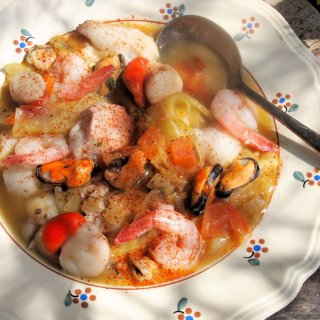 Fabulous Fish for Good Friday – Marmite Ecossaise – Luxury Scottish Seafood Stew