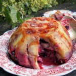Berry Bread and Butter Summer Pudding