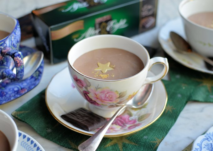Tea Cup After Eight Chocolate Mint Mousse