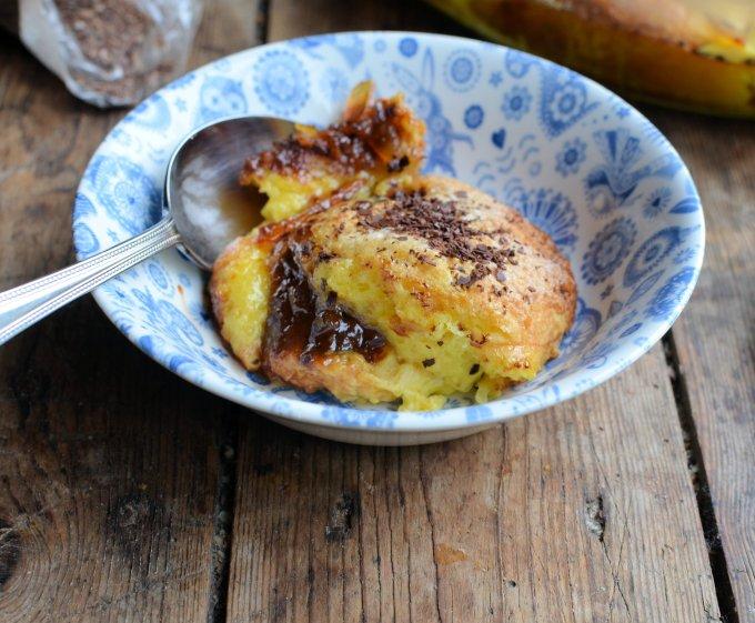 Chocolate Marmalade Brioche Bread and Butter Pudding