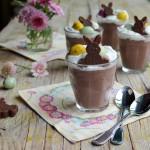 Organic Easter Menu: French Herb & Garlic Lamb and Pots au Chocolat