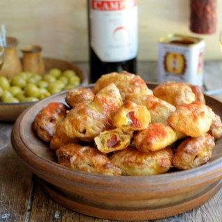 A Secret Recipe for Parties! Empanaditas de Chorizo