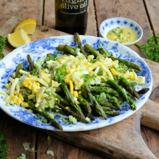 Summery Asparagus Gribiche for Brunch