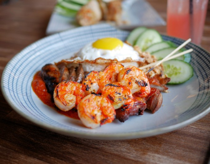 NASI LEMAK (MALAYSIAN COCONUT RICE COMBO)