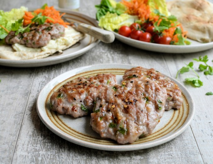 Chilli & Coriander Pork Patties