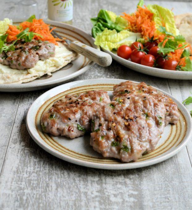 Chilli & Coriander Pork Patties