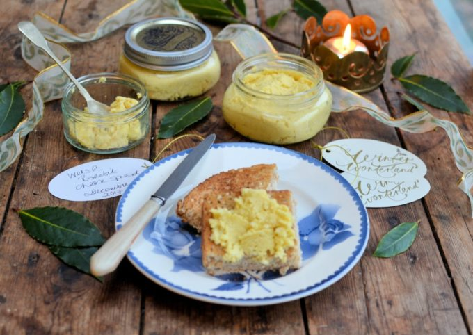 A fabulous cheese spread that would make a wonderful gift for any serious food lover, made in under 2 minutes in the Vitamix Ascent, with all the traditional ingredients for a classic rarebit. Pot the cheese spread in covered jars and add a card with the serving suggestions.
