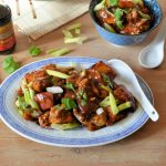 Baked Indo-Chinese Chilli Chicken Curry