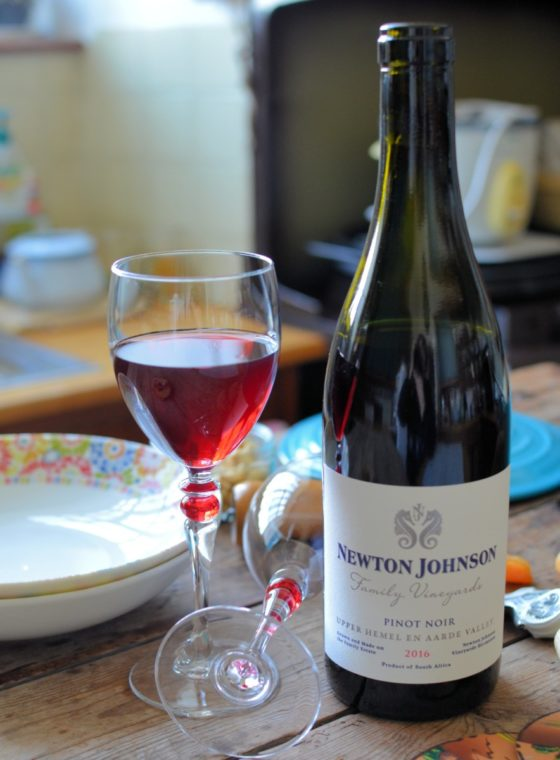 2016 NEWTON JOHNSON, FAMILY VINEYARDS PINOT NOIR South Africa, Hemel-en-Aarde Valley