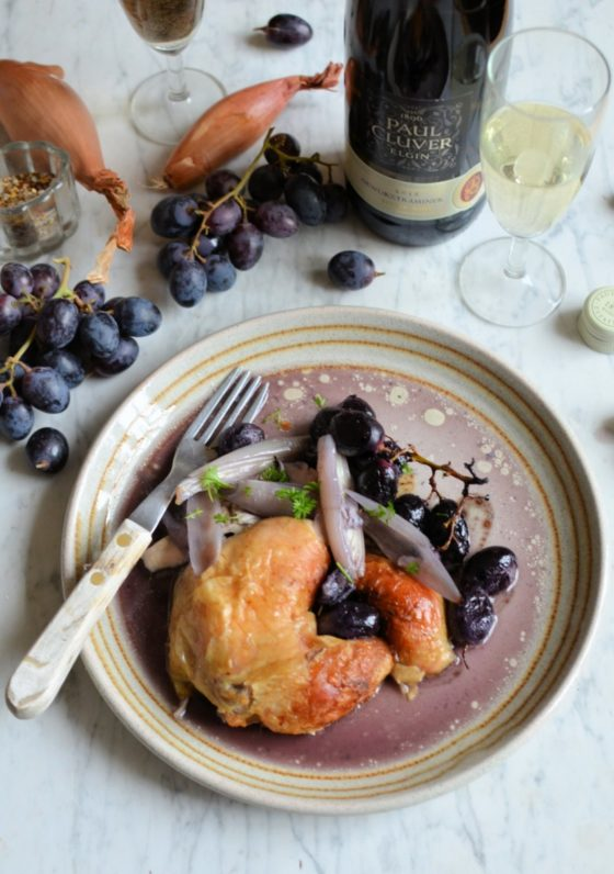 Paired with South African Gewurztraminer from Wine Trust 100