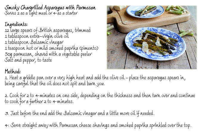Chargrilled Asparagus Recipe