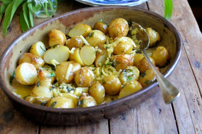Cheesy Roast Potatoes