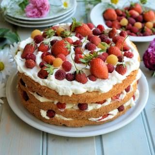 British Strawberries and Asparagus…..