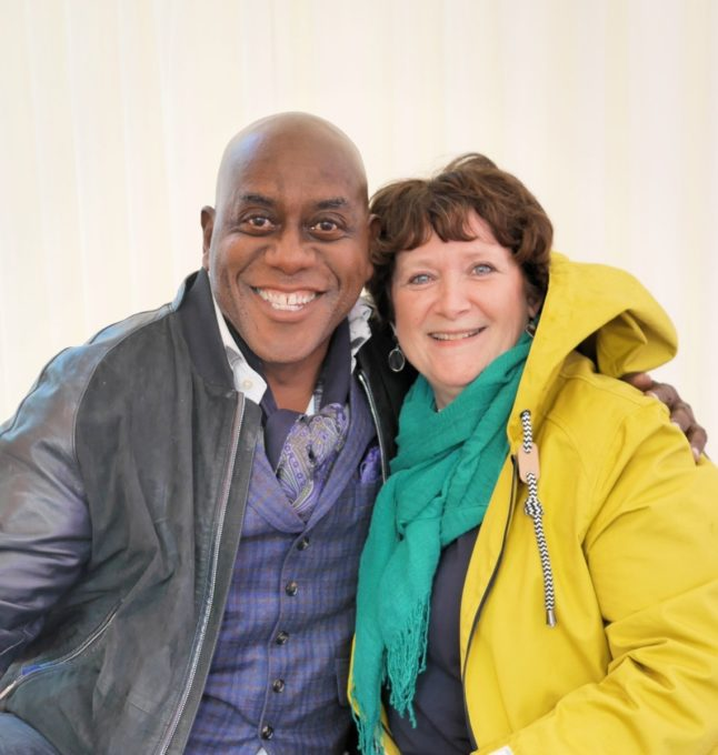 Ainsley Harriott and me