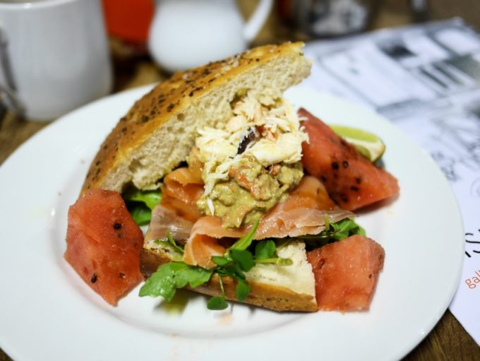 Gallery Cafe Sandwich
