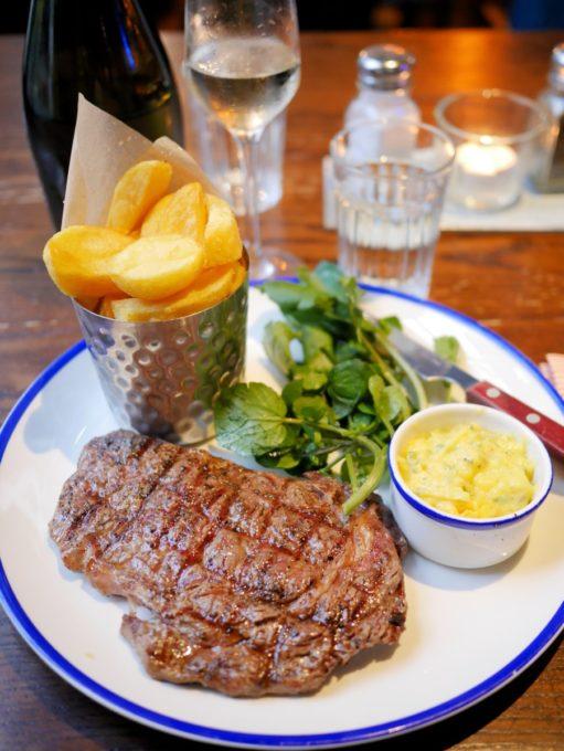 Ribeye Steak Old Ale and Coffee Shop Wiltshire
