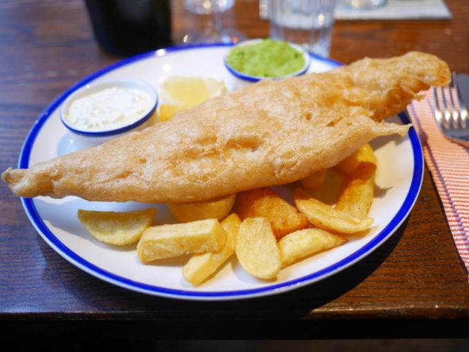 fish and chips old ale and coffee house