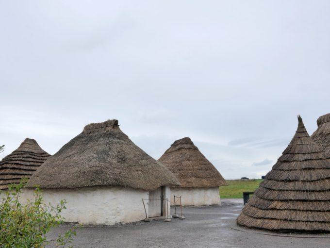 Neolithic huts Stonehenge