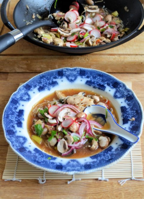 Quick Pickle Hot and Sour Soup