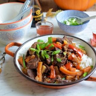 Mongolian Beef for Crocktober