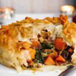 Filo Squash Pie