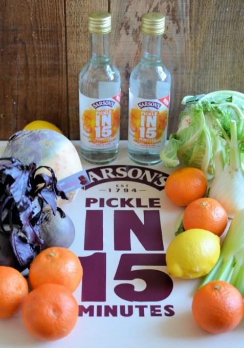 Sarson's veggies and fruit