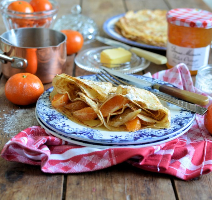Sweet Clementine & Bitter Orange Crêpes