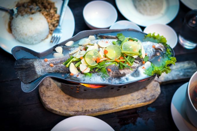 Six Seafood Dishes