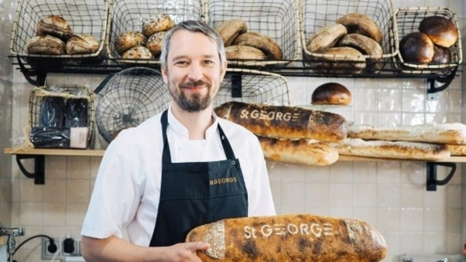 "Bread culture in Finland is currently developing at a fast pace. ""Freshly baked bread is the heart of our hotel,"" says Filip Forsberg, Head of Food Experiences at St. George Bakery, located at Hotel St. George in downtown Helsinki"
