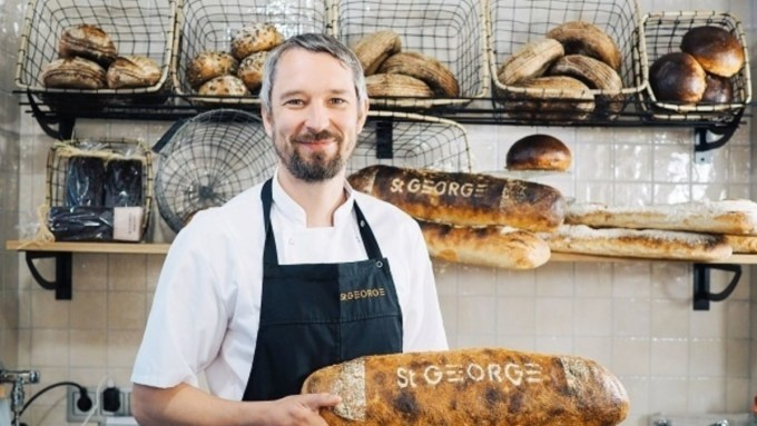 """Bread culture in Finland is currently developing at a fast pace. """"Freshly baked bread is the heart of our hotel,"""" says Filip Forsberg, Head of Food Experiences at St. George Bakery, located at Hotel St. George in downtown Helsinki"""