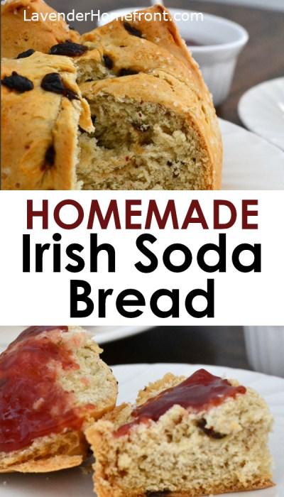 Irish soda bread recipe perfect for St. Patrick's Day