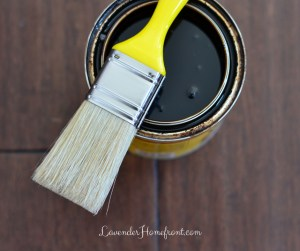 Cleaning your Wood Stain Brushes