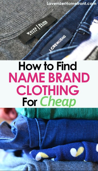 The best tips for finding high end clothing for cheap prices