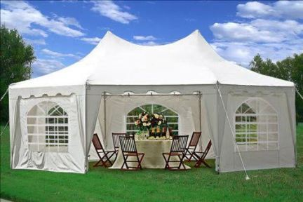 Lounge Tent (with sides) - 29' x 21