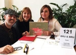 Juan Carlos Rodríguez, Inge Serrano y Ana Bru.