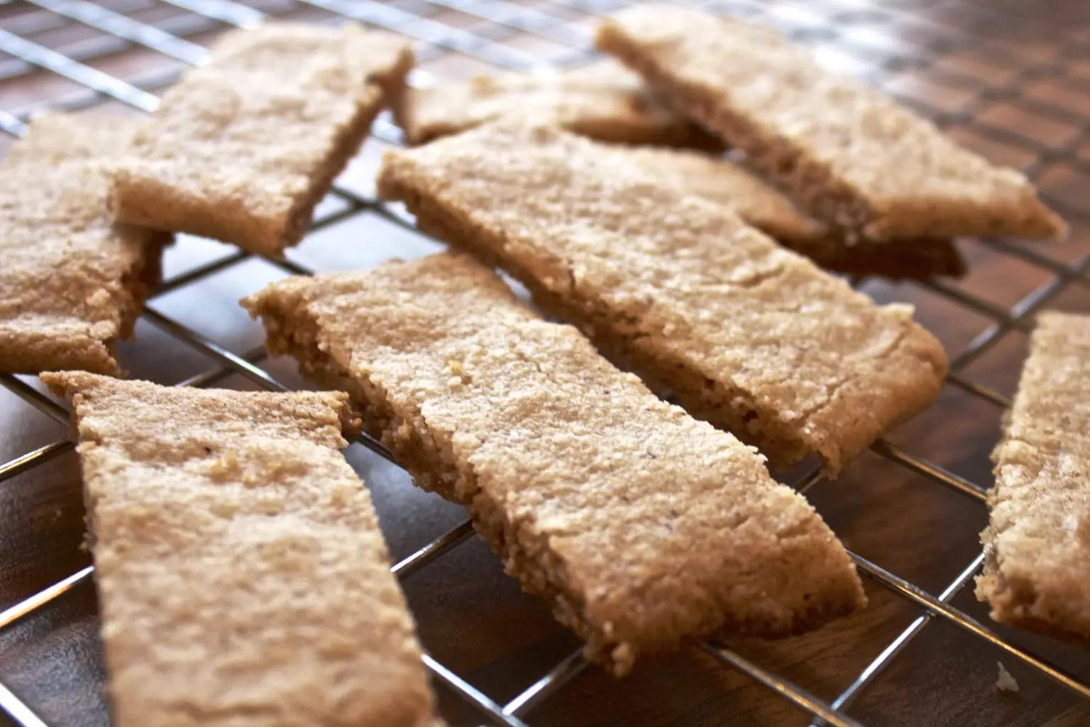Gluten- og laktosefrie kanelkjeks