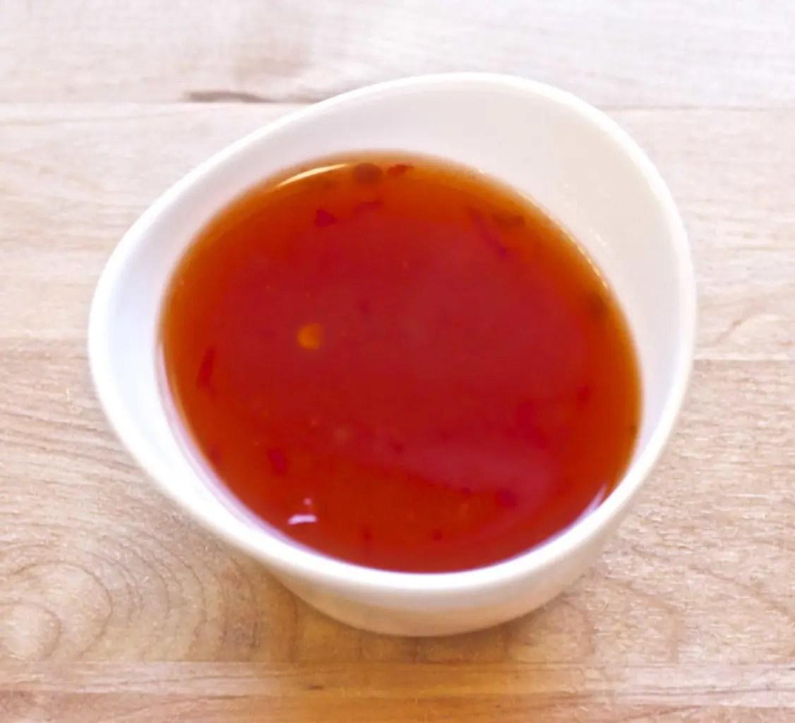 Hjemmelaget sweet chili saus