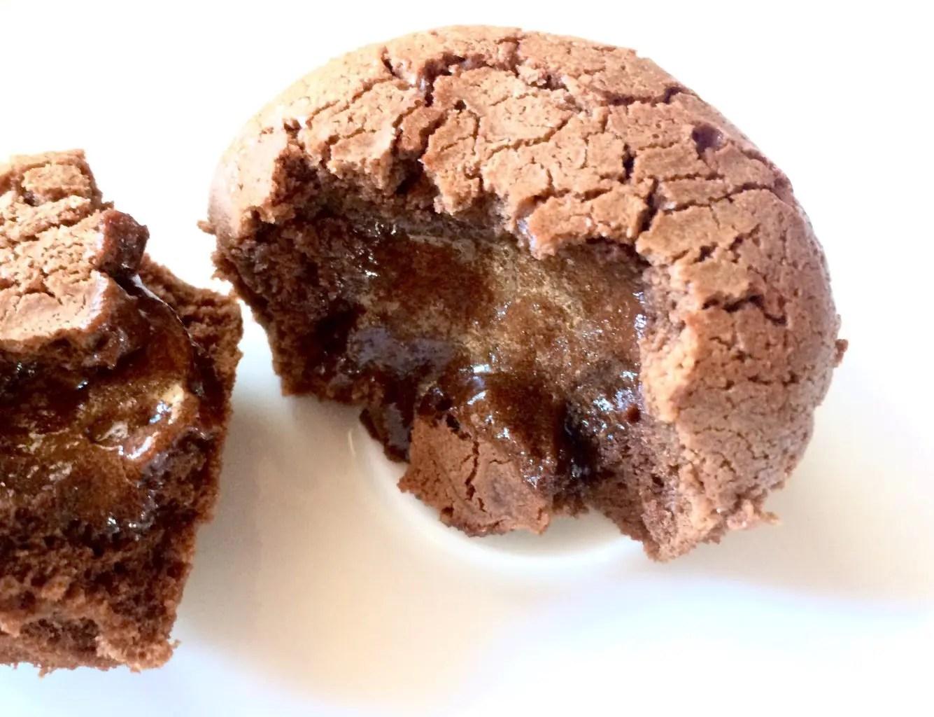 Glutenfri og laktosefri sjokoladefondant lavFODMAP