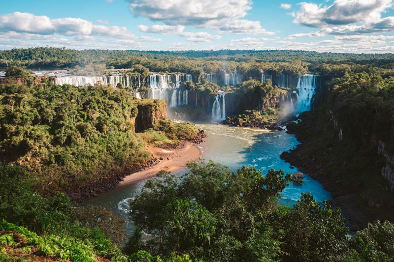 come visitare cascate iguazu brasile