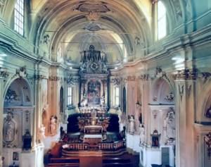 Interno della parrocchia di Vicobellignano
