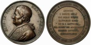 Medaglia giubilare Pio IX