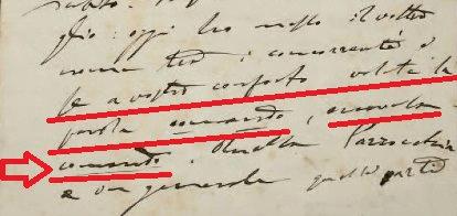 particolare lettera Bonomelli