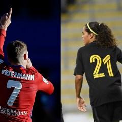 Griezmann, Andrea Falcón y ver fútbol femenino