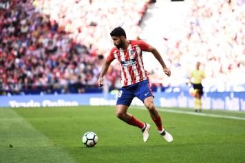 Costa en el partido frente al Athletic. Foto: RUBÉN DE LA FUENTE