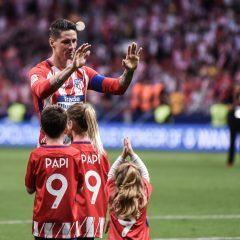 Torres, gracias por elegir al Atlético de Madrid